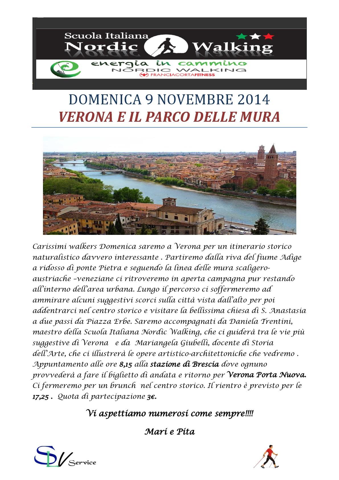 DOMENICA 9 NOVEMBRE 2014                     VERONA E IL PARCO DELLE MURA-001-001