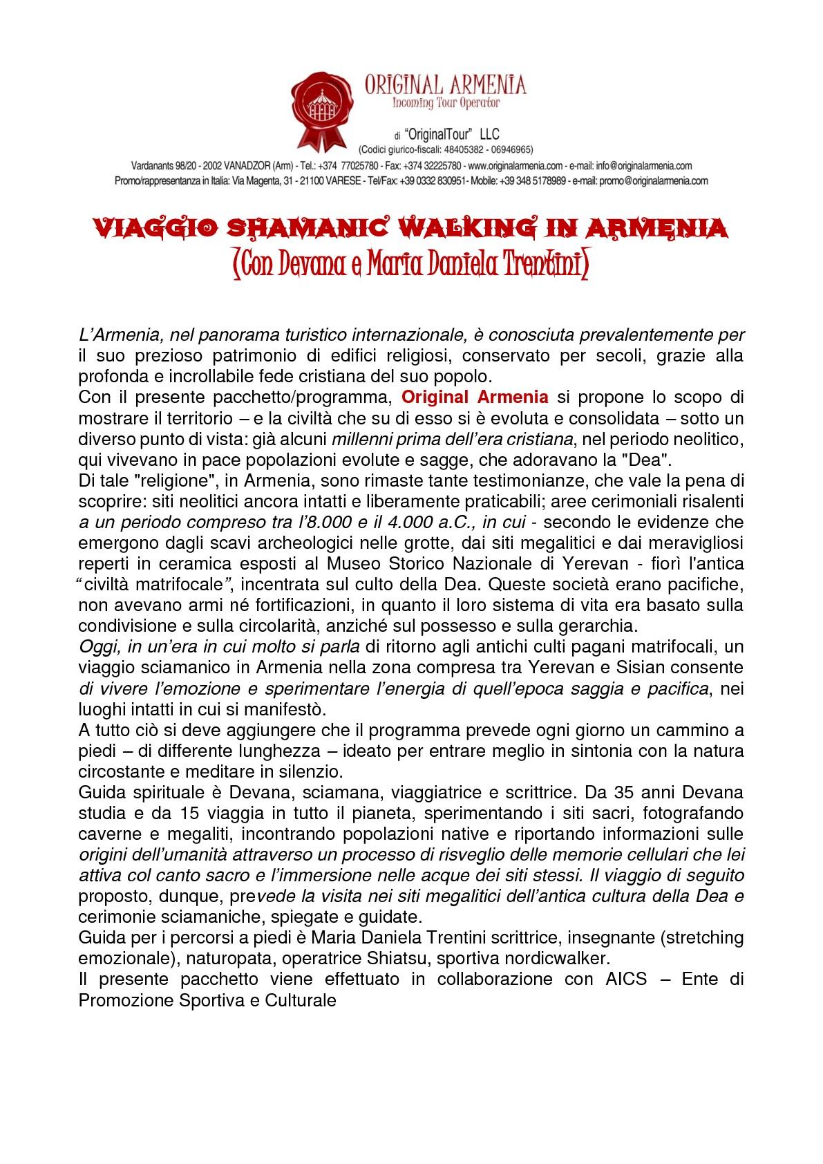 VIAGGIO SHAMANIC WALKING IN ARMENIA-001-001